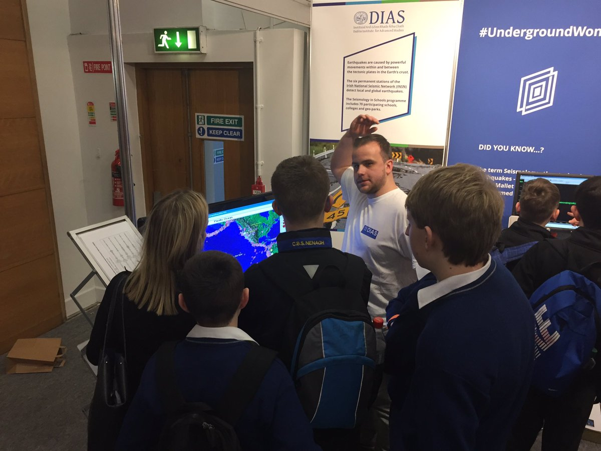 test Twitter Media - Plenty to see at our @dias_geophysics along with @GeolSurvIE at #btyse. #UndergroundWonder https://t.co/DIGinF4z6t