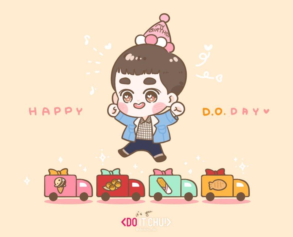 고마워❤️ 사랑해 도경수❣ 우리 마음속에 1등👍🏻 #경수야생일축하해 #HappyDODay #HappyKyungsooDay #H...