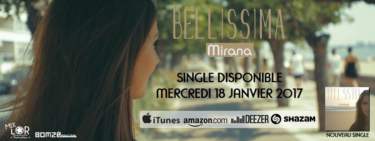 Mon nouveau single &quot;Bellissima&quot; dispo le Mercredi 18 Janvier 2017 !  #NewSingle #Bellissima #iTunes #Amazon #Fnac #Spotify #Deezer #Shazam<br>http://pic.twitter.com/yQVfLCGq9L
