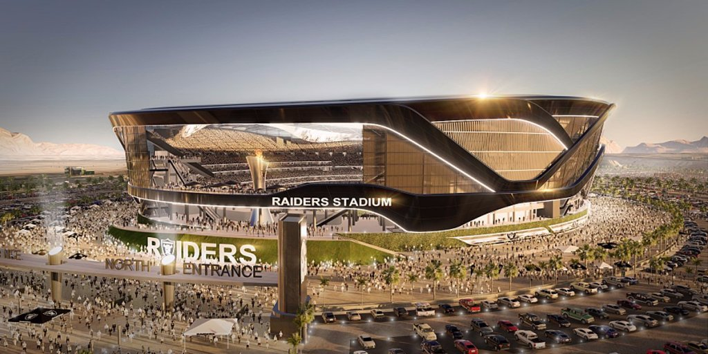 Check out the flashy $2 billion stadium the Raiders want to build in Las Vegas https://t.co/lZe2YGENCZ https://t.co/6JYr6PnfH7