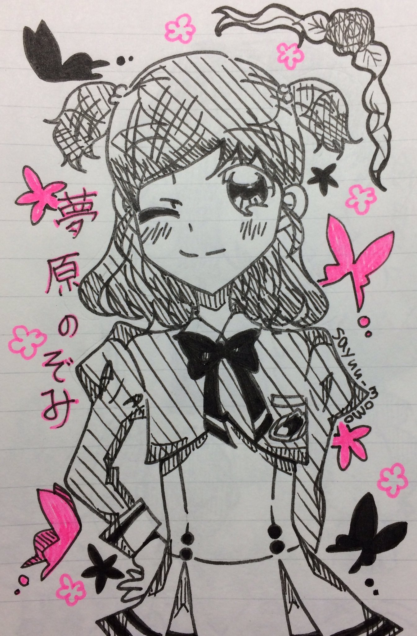 紗遊 (@sayuu_momo)さんのイラスト
