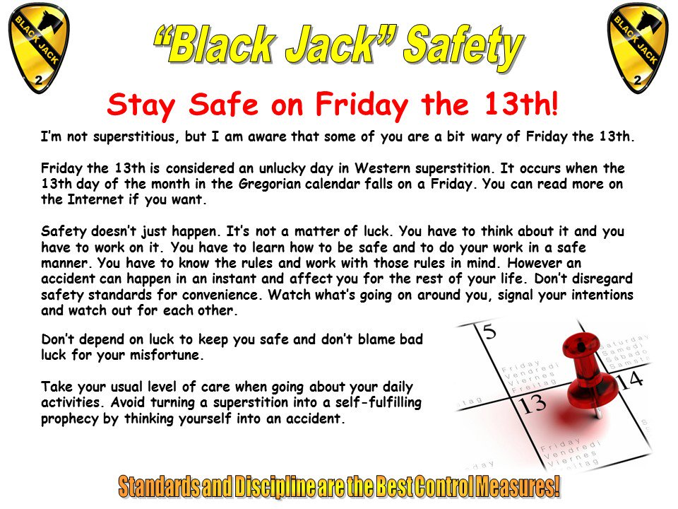 Friday The 13th Superstitions List | www.pixshark.com ...