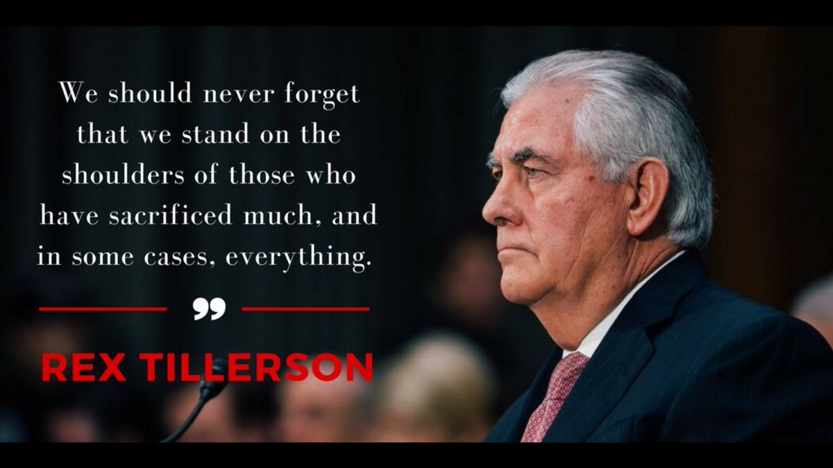 Retweet if you think Rex Tillerson rocked his confirmation hearing yesterday and will make a great Secretary of State! #TillersonHearing <br>http://pic.twitter.com/UFjgsket2Z