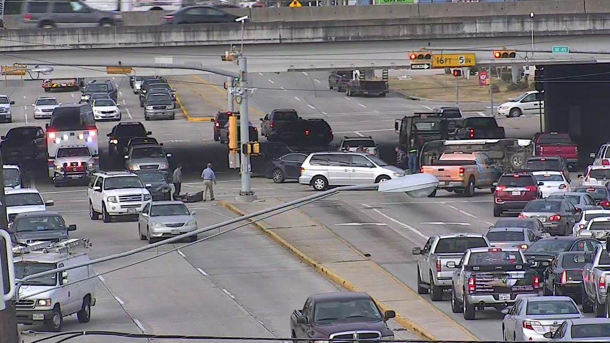 MAJOR ACCIDENT I-45
