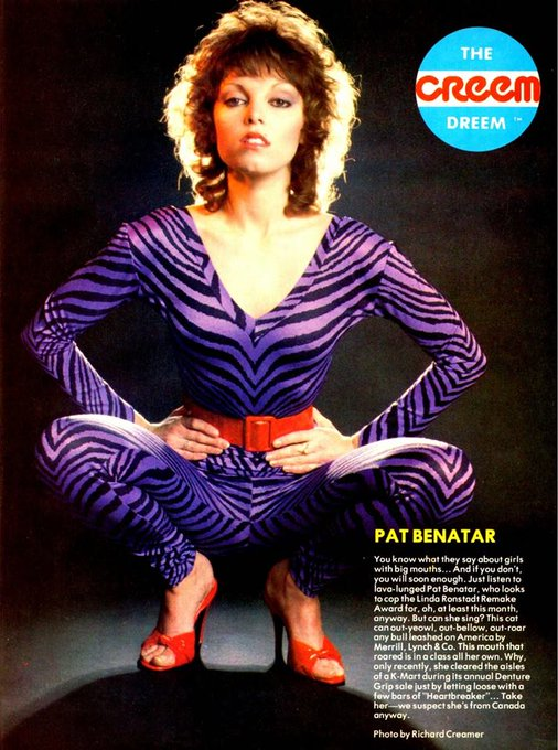 Happy 64th Birthday, Pat Benatar!
