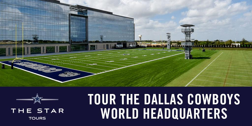 Tour the Dallas Cowboys World Corporate Headquarters at The Star. Tickets are on sale now! Visit: https://t.co/uMYlrGoWGD https://t.co/SRQCYovtjF