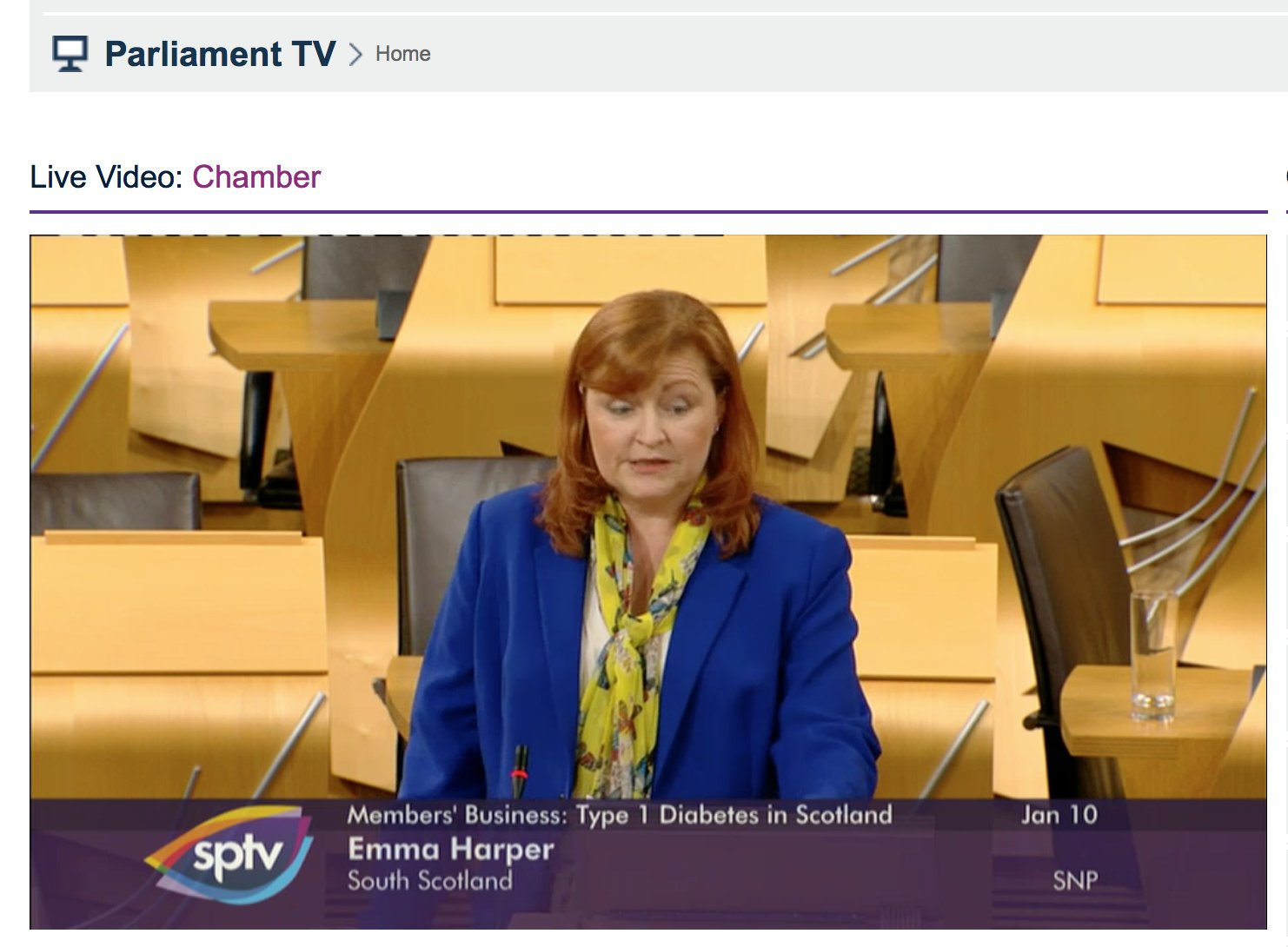 talking in @ClareAdamsonSNP debate on Type 1 Diabeties in @ScotParl this evening @DiabetesScot  #diabetes https://t.co/3k705MzZda