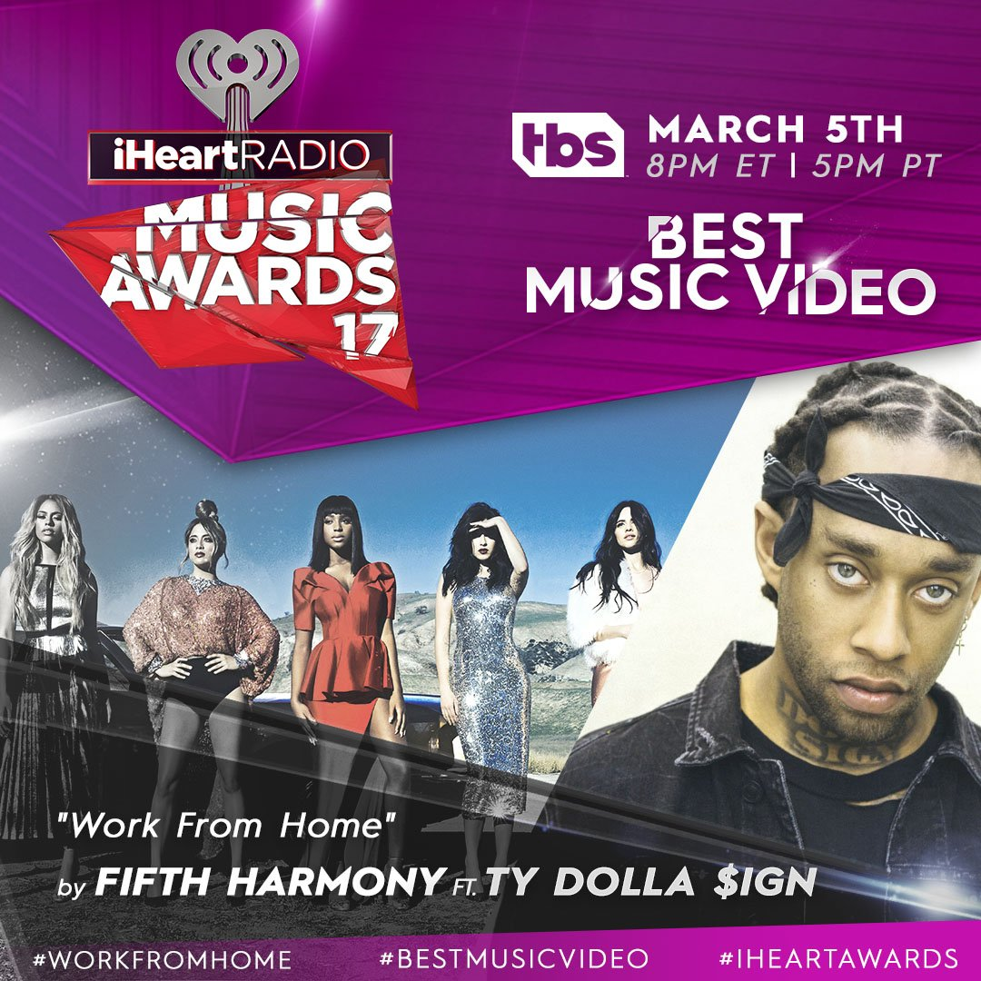 Harmonizers, you're the boss at home. Vote for #WorkFromHome to win #BestMusicVideo at our #iHeartAwards with a RT!