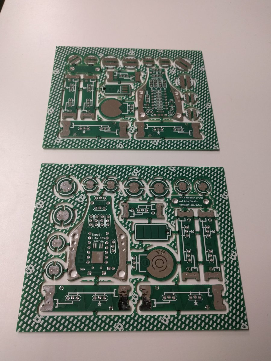 #BoldportClub Juice prototypes just arrived from @eC_PCB