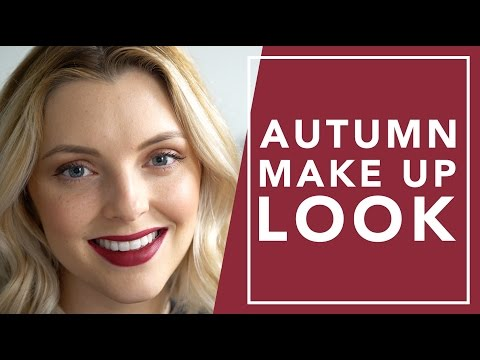 AUTUMN MAKEUP TUTORIAL | Estée Lalonde #diy #tutorial #beauty #makeup