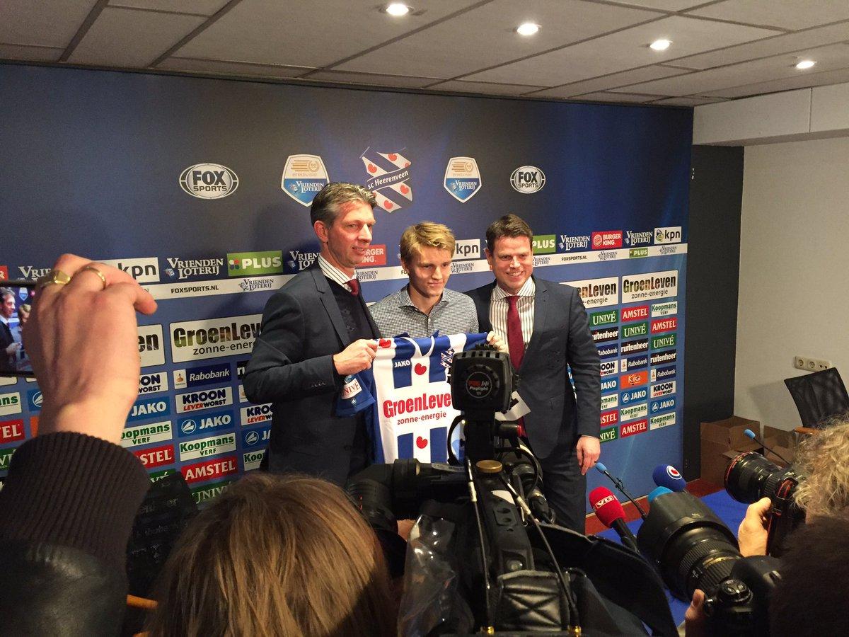 Martin Odegaard signs an 18-month loan deal with @scHeerenveen https:/...
