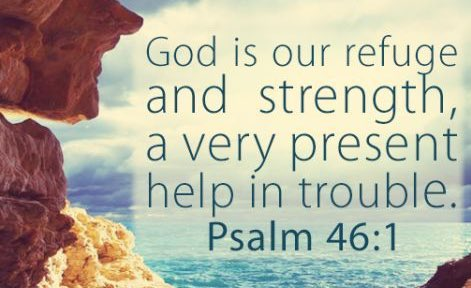god is a very present help in trouble