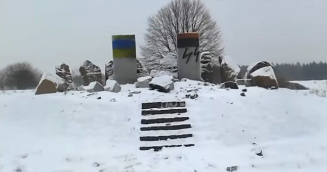 The head of Lviv region and the Consul General of Poland condemned the desecration of the monument to Poles