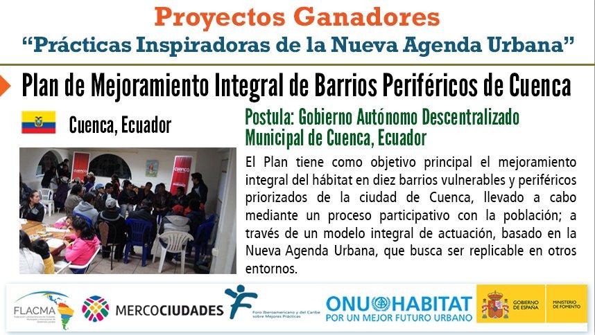 Image result for Plan de Mejoramiento Integral de Barrios Periféricos de Cuenca, Ecuador