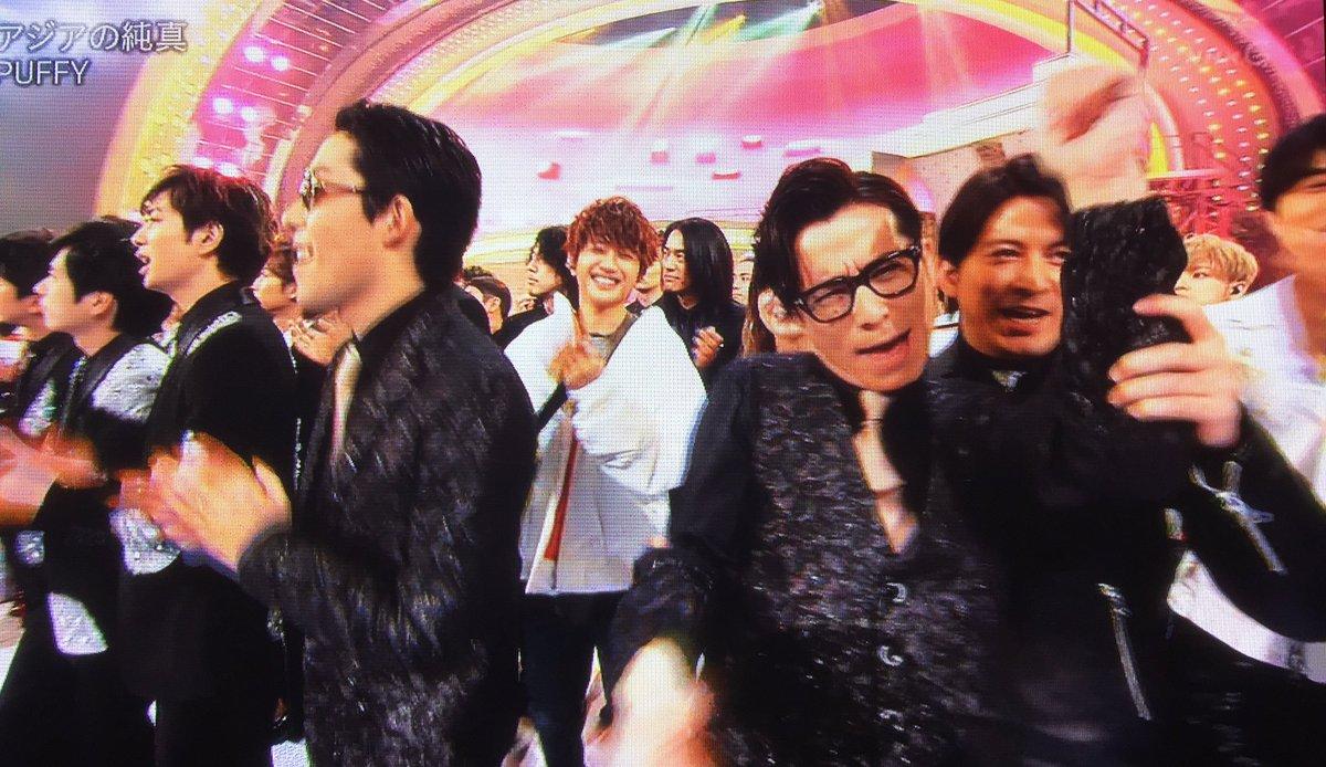 オリラジお二人のラジオより  〈藤森〉 隣V6さんで、岡田准一さんが…すごく、こう…  〈あっちゃん〉 めっちゃ絡んで来てた(笑)  〈藤森〉 絡んでくるんで(笑)俺、両腕ガシって持たれて、なんかすんごいブン回されるような(笑)  #NHK紅白  #オリラジ #岡田准一<br>http://pic.twitter.com/CmOOe1voGN