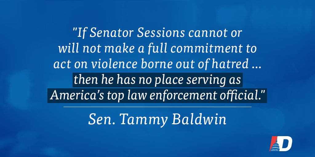 .@tammybaldwin won't stand for bias-motivated violence in our country