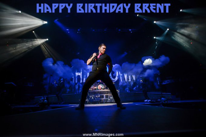 Happy Birthday to Brent Smith from Shinedown.