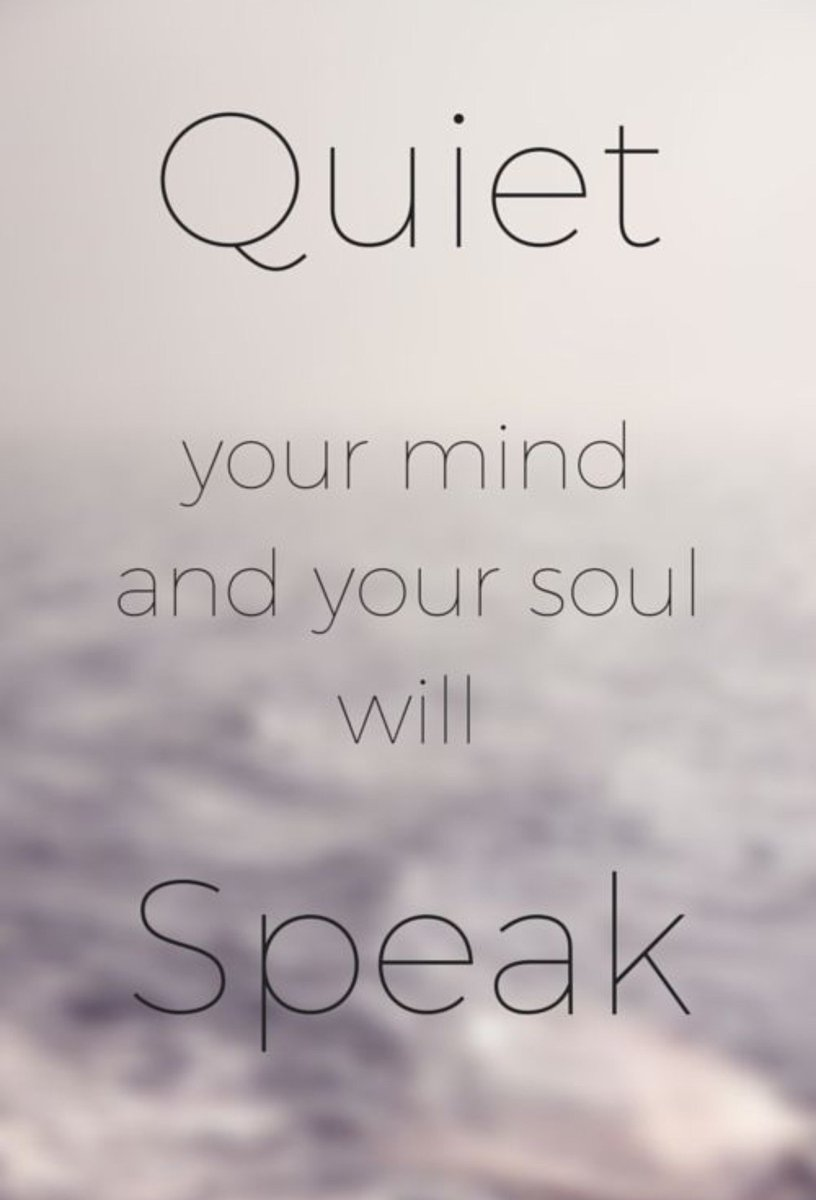 Contrary to popular belief, peace and quiet is all about the noise in your head.
