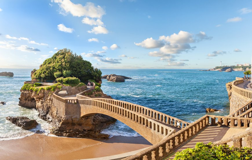 Admire Biarritz, the queen of the Basque coast, the perfect setting fo...