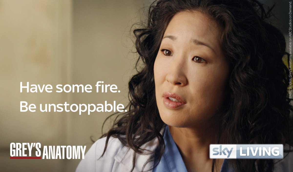 Sky Living On Twitter Whatyouneedin5words From Cristina Yang