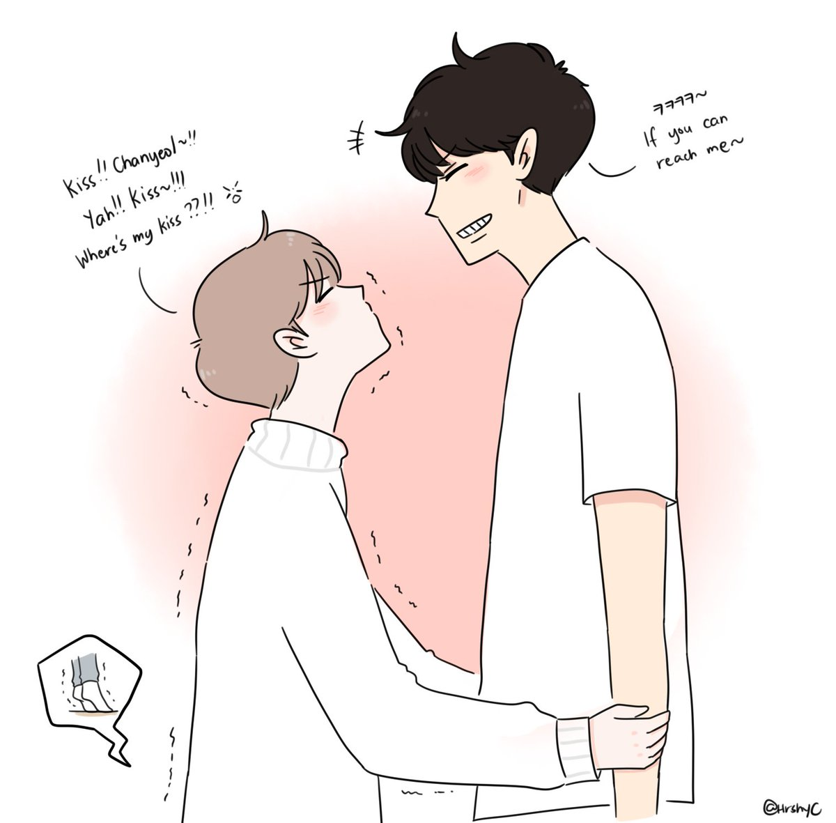 a giant teasing his small puppy  #chanbaek #exofanart<br>http://pic.twitter.com/0VZ2xFynSF