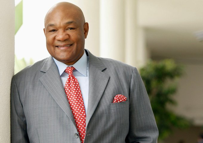 Former professional boxer George Foreman is celebrating his 68th birthday today. Happy Birthday!