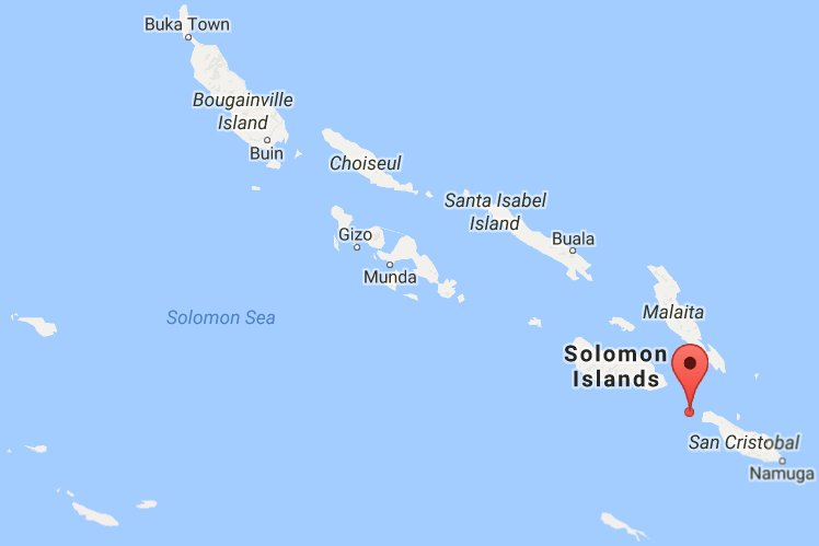 Magnitude-6.7 quake hits Solomon Islands: @USGS