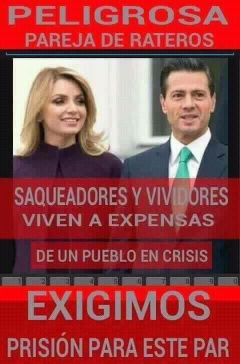 He aquí a 2 criminales dignos de la Cámara de Ratas¿Y cuándo México lo...