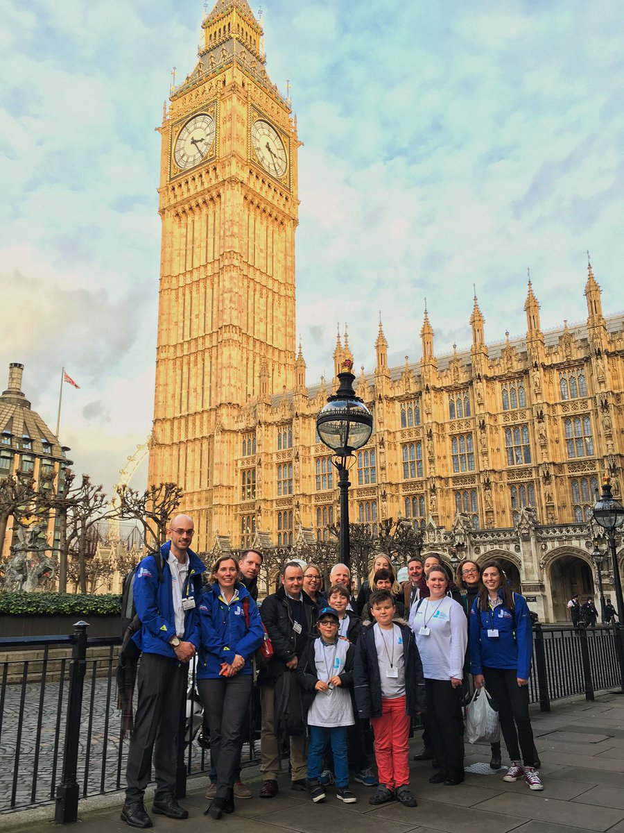 Last event of launch day! The @emctrust team is about to head into meet MPs from #roundbritain2017 #emctrust