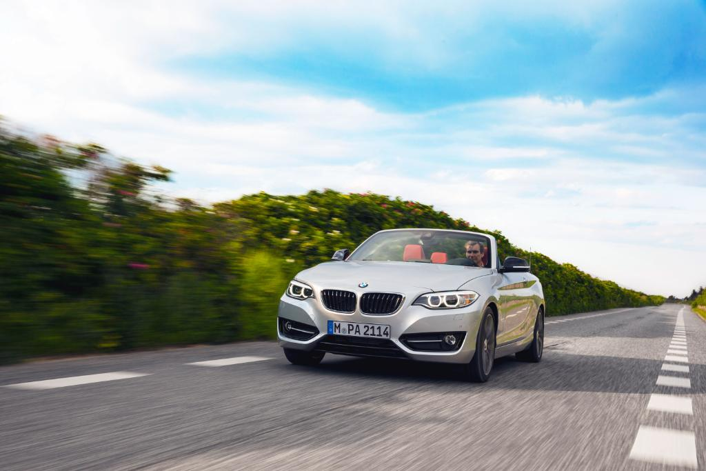 The sky is the limit. Challenge accepted.  The #BMW #2series Convertib...
