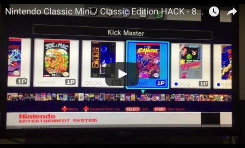 NES Classic Mini Has Been Hacked You Can Now Add 90 Games! #nes #nintendo #nesmini - https://t.co/0osd4SkQSY https://t.co/79GXqksG9c