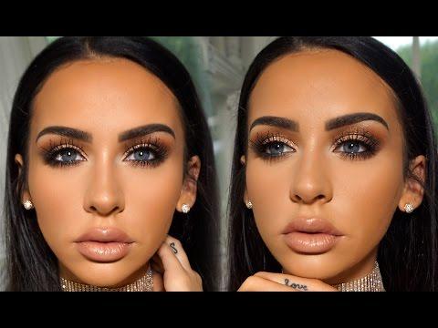 Romantic Fall Date Night Makeup | Carli Bybel #diy #tutorial #beauty #makeup