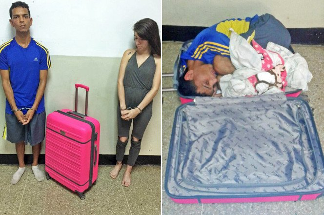 A woman has been busted for trying to smuggle her lover out of prison in a suitcase https://t.co/YJYcynTf1Y
