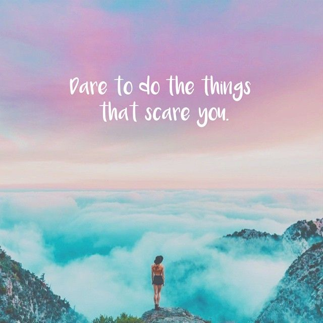 Dare to do the things that scare you. #JoyTrain #SuccessTRAIN #Success #BePositive <br>http://pic.twitter.com/1dfxQOPFSL RT @ourhappyfamily @EdenSol