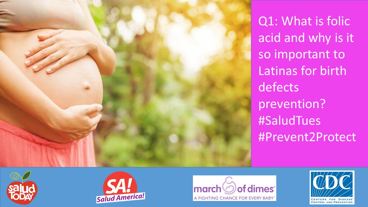 Thumbnail for #SaludTues - Birth Defects Prevention Month: What Latinas Need to Know