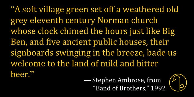 Happy Birthday American historian and biographer Stephen Ambrose (January 10, 1936 October 13, 2002)