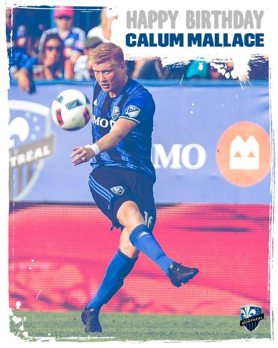 Impactmontreal: Bonne fête Calum Mallace! Happy birthday CMallace10!