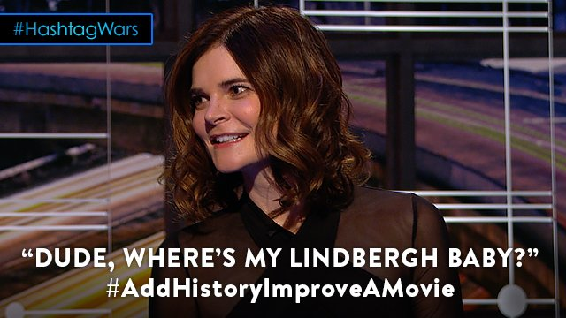 You'll laugh, you'll cry. @midnight @betsy_brandt #AddHistoryImproveAM...