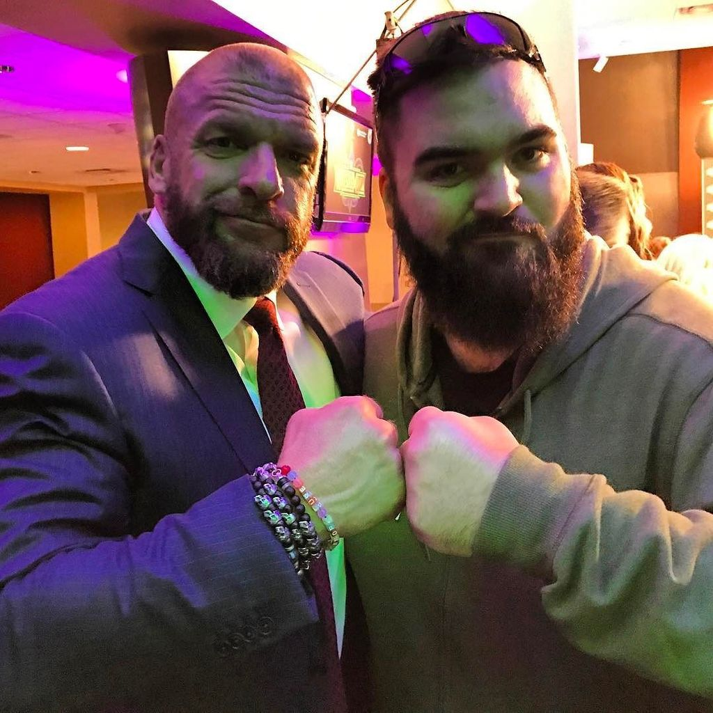 Time to play the game.  @tripleh #wrestlemania #wwe  https://t.co/mJ5vX6THpa https://t.co/mZjtZsxQVw