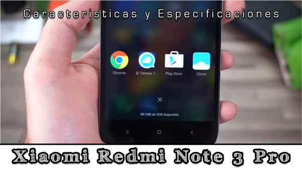 Thumbnail for Xiaomi Redmi Note 3 Pro Características, Opiniones y Detalles!