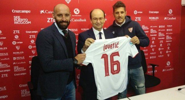 TRANSFER - Sevilla, Inter'den Jovetic'i kiraladı. https://t.co/r2dg9dU...