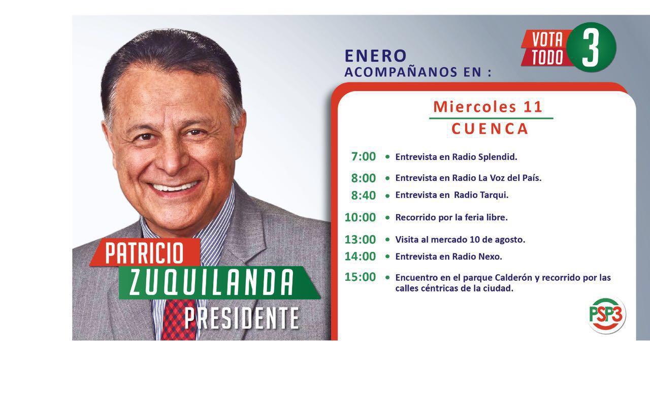 Les comparto mi agenda de mañana. #Zuquilanda #UnPresidenteDeSoluciones https://t.co/v53F00UAR0