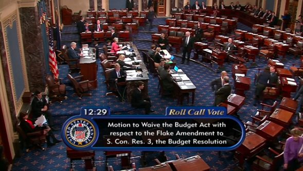 .@BernieSanders proposes Amendment 19: 3/5th of Senate votes should be required to make cuts to #Medicare, #SocialSecurity, #Medicaid. #1u<br>http://pic.twitter.com/ZI9nA4MB7r