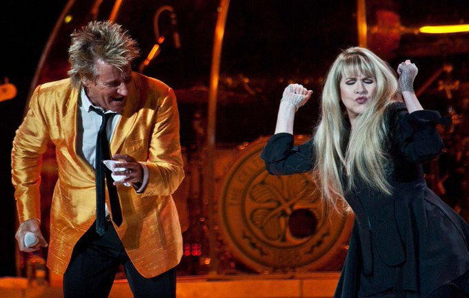 Happy Birthday Rod Stewart. Thanks for giving me my favorite picture of Stevie