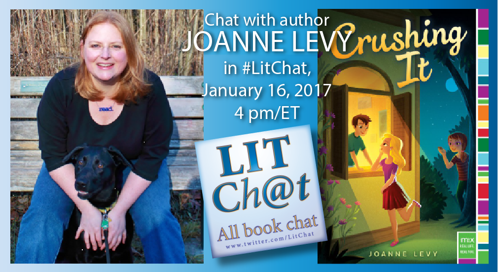 #LitChat itChat with @JoanneLevy begins in 5 minutes. See you there! https://t.co/6FzczbWu67 https://t.co/VhLNWeWOVc