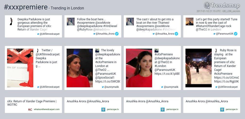 #xxxpremiere is now trending in #London  https://t.co/xNNS55hYUk https://t.co/ivhr1vSfjE
