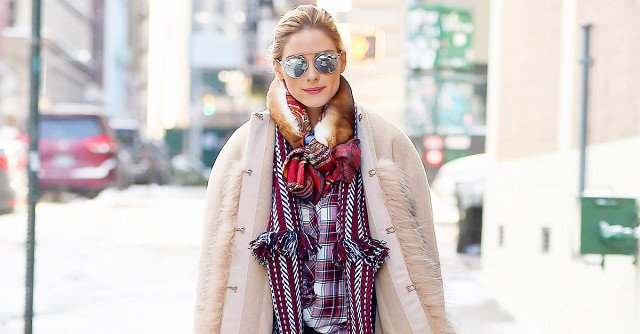 Olivia Palermo Conquered Winter With This Skinny-Jeans Outfit