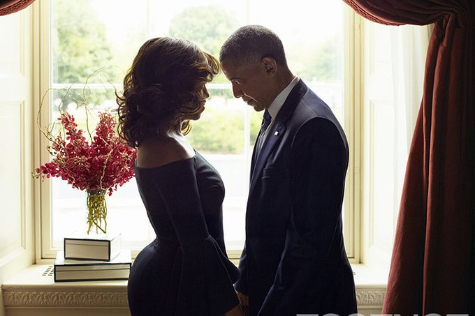 'For the past 25 years, you have not only been my wife and mother of my children, you have been my best friend.' #ObamaFarewell