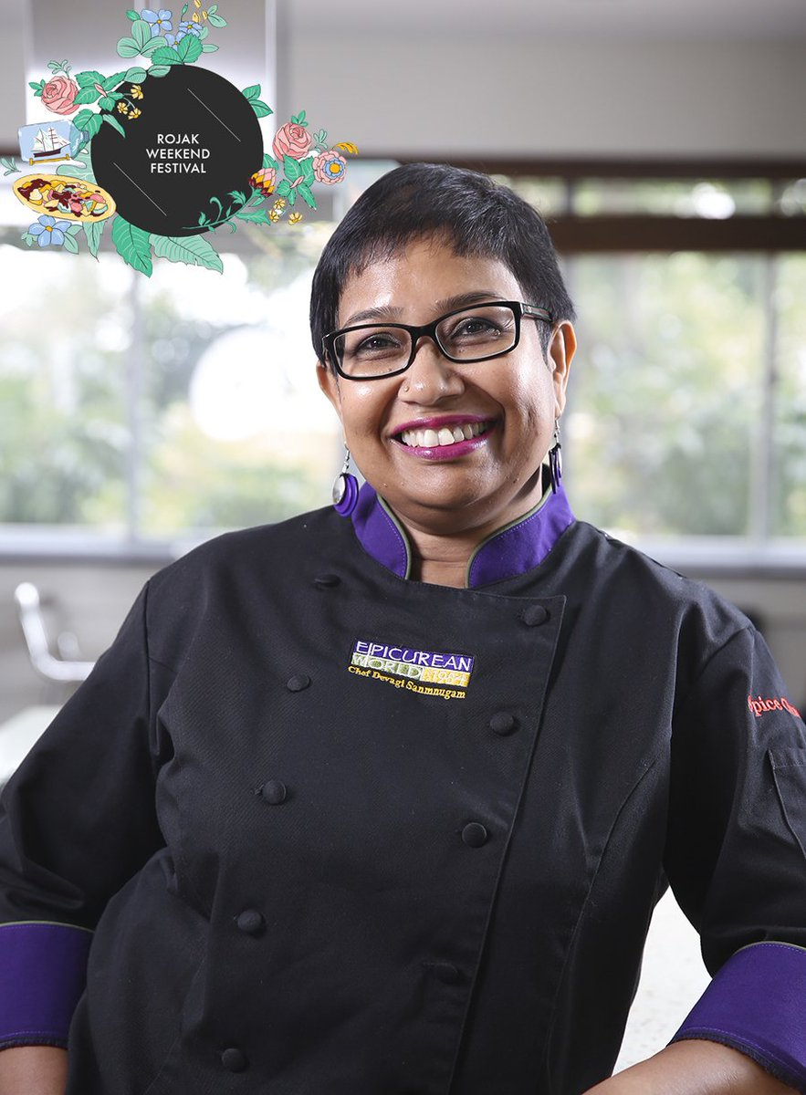 Chef @DevagiSanmugam knows how to cook up a mean curry! She shares useful tips for making devil's curry at #RojakWeekendFestival Join us! https://t.co/7eioDpwz5I