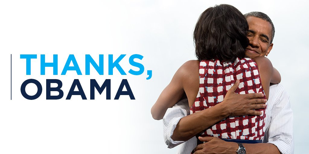 Thank you, Mr. President. Yes we can, and yes we did. #ObamaFarewell h...
